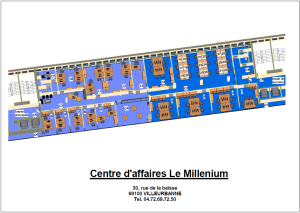 Location bureau équipé Villeurbanne